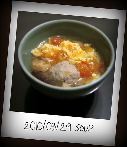 蕃茄蛋花湯 (2010/03/29)
