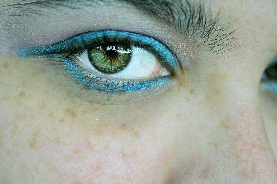 50s style eye