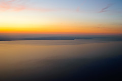 Lake Michigan, approaching Chicago Photo