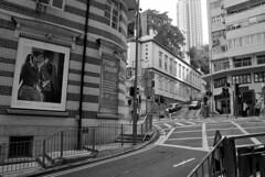 Lan Kwai Fong | Hong Kong | China (Christian Junker | Photography) Tags: china street bw hongkong nikon asia cityscape crossing fringe lankwaifong lkf sar hongkongisland historicbuilding d90 hongkongphotos 18105mm worldtrekker absolutelyperrrfect ringexcellence