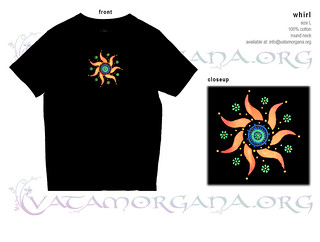 Whirl t-shirt for men