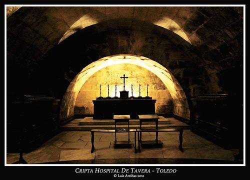 Cripta Hospital Tavera Toledo