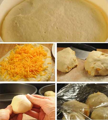 cheese roll dough ball story board
