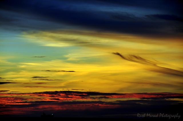 Sunset in Bintulu