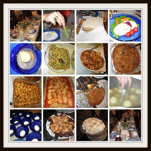 Passover Seder Foods - 2010