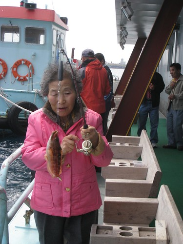 Great grandmother caught one!
