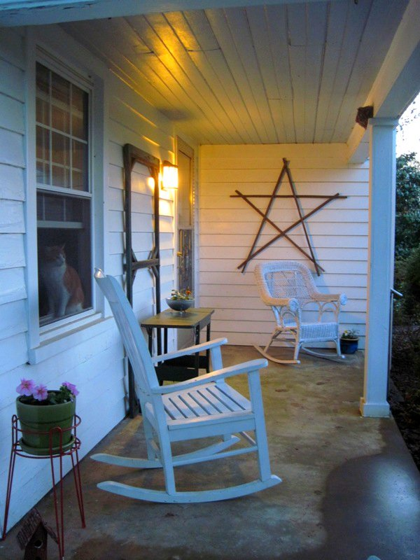 Front porch April 2010
