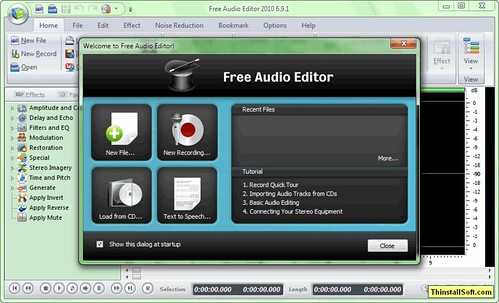 Free Audio Editor Portable