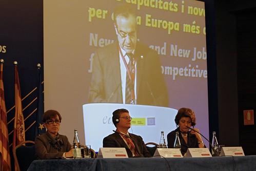 Sentint el discurs del ministre espanyol de Treball i Inmigració