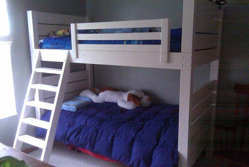finished bunk beds