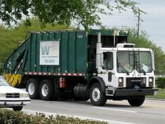 WM Mack MR / Leach 2RII REL - 360593 (FormerWMDriver) Tags: trash truck garbage mr rear wm management rubbish end waste refuse loader load mack inc leach rl sanitation rel dustcart 2r2 rearloader 2rii rearload 360593