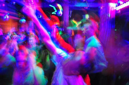 dj boris crowd shot at lima restaurant lounge washington dc club glow