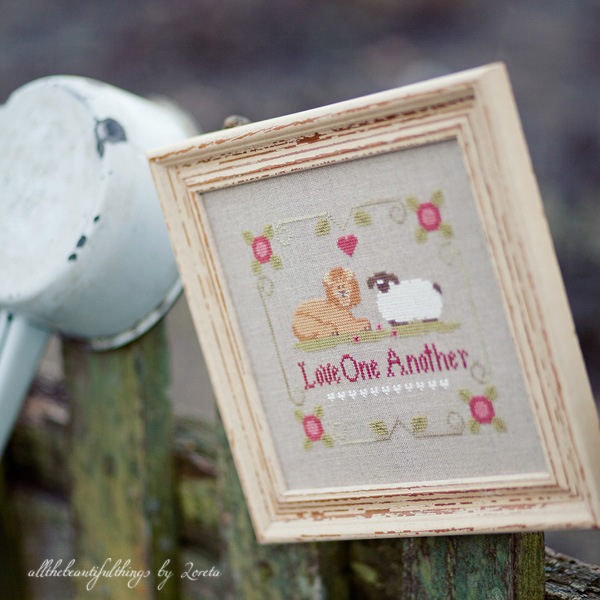 Love One Another (Little House Needleworks)