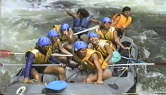 890810 Rafting 3 (rona.h) Tags: video australia august 1989 cacique whitewaterrafting tullyriver cloudnine ronah