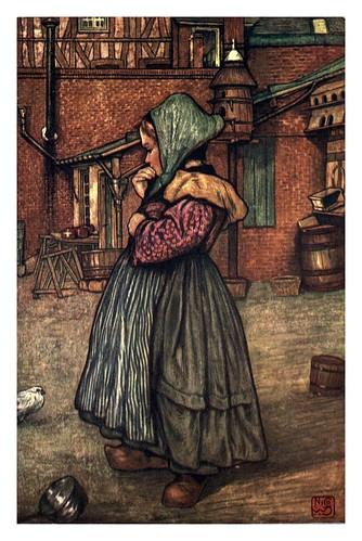 010- Una niña normanda-Normandy-1905- Ilustrado por Nico Jugman
