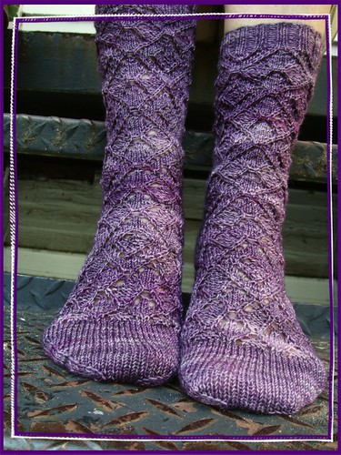 purple haze socks