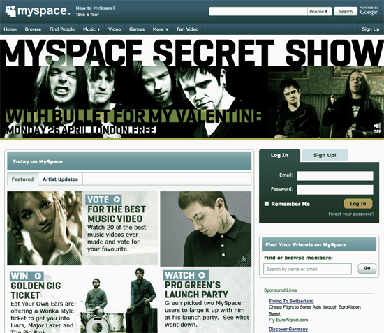 How to Get Properly Set Up for Self Promotion through Myspace