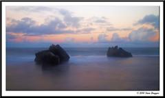 P4176463 (Steve Daggar) Tags: sunset seascape olympus e3 centralcoast zd forrestersbeach 1260mm fotocompetitionbronze lightcraftfader