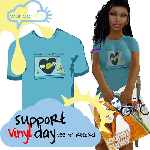 <(wonderkids)! support vinyl day ad