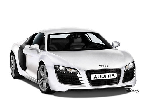 Computer Graphic Audi R8 A Photo On Flickriver
