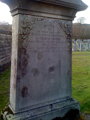 Fleming and Gilchrist  Grave at Cross Kirk, Peebles