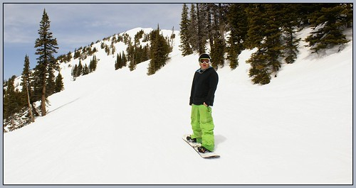 Tate @ Targhee - April 18, 201