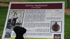 Reading about Johnny Appleseed