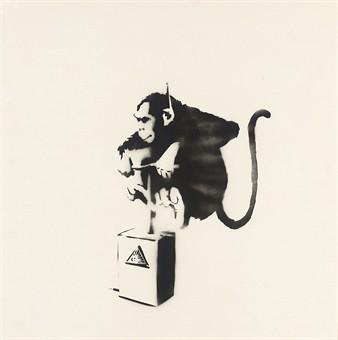 Banksy - Monkey Detonator