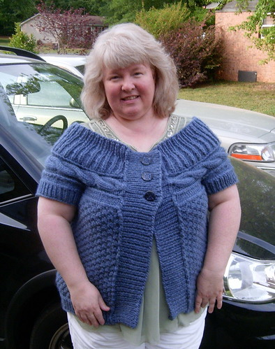 Knitting Patterns For Plus Size Sweaters : Plus Size Knitting: Another Nice Plus Size Sweater!
