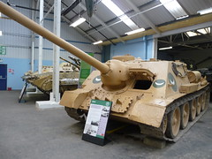 SU-100 (simononly) Tags: uk england museum army spring war tank military iraq nazi german soviet dorset ww2 vehicle british ww1 coldwar 2010 bovington allied