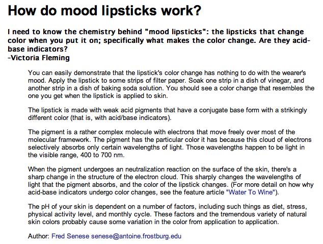 Magic lipsticks