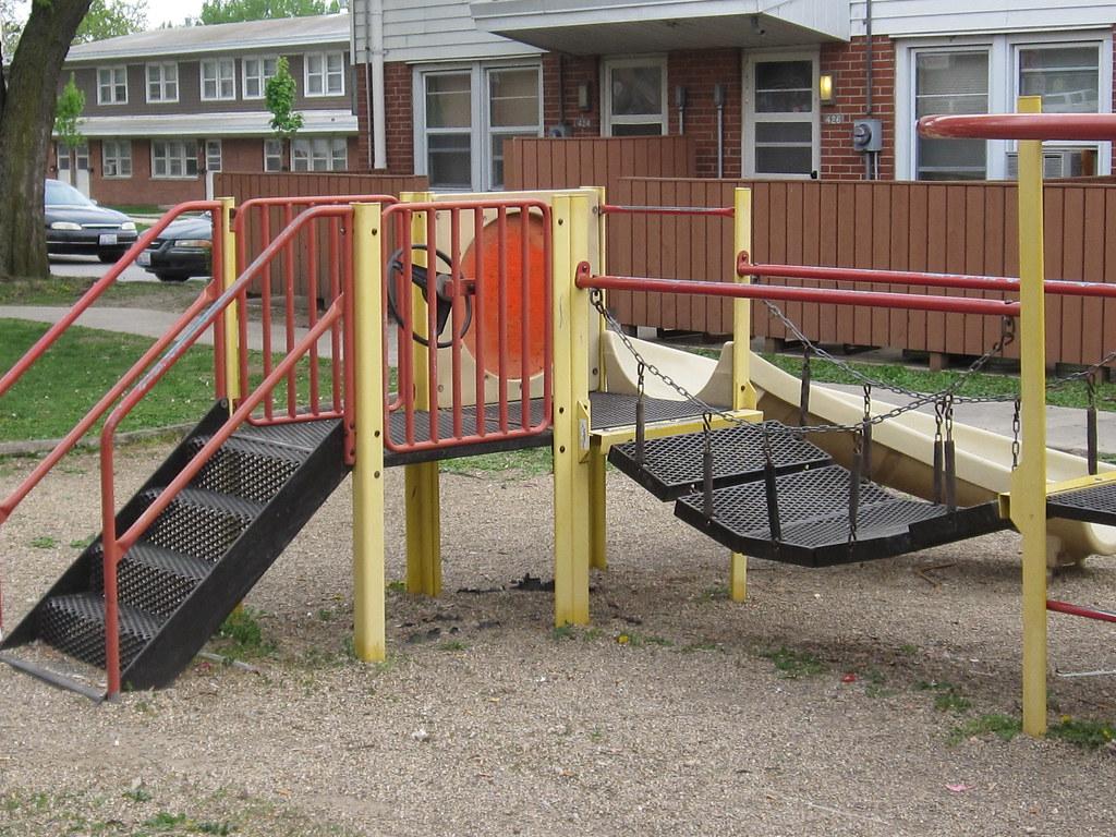 We need safe playground equipment