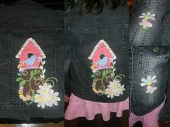 Bluso de Ganga da Maria (rcassia_2000) Tags: feltro tecido aplique sizzix coleosping