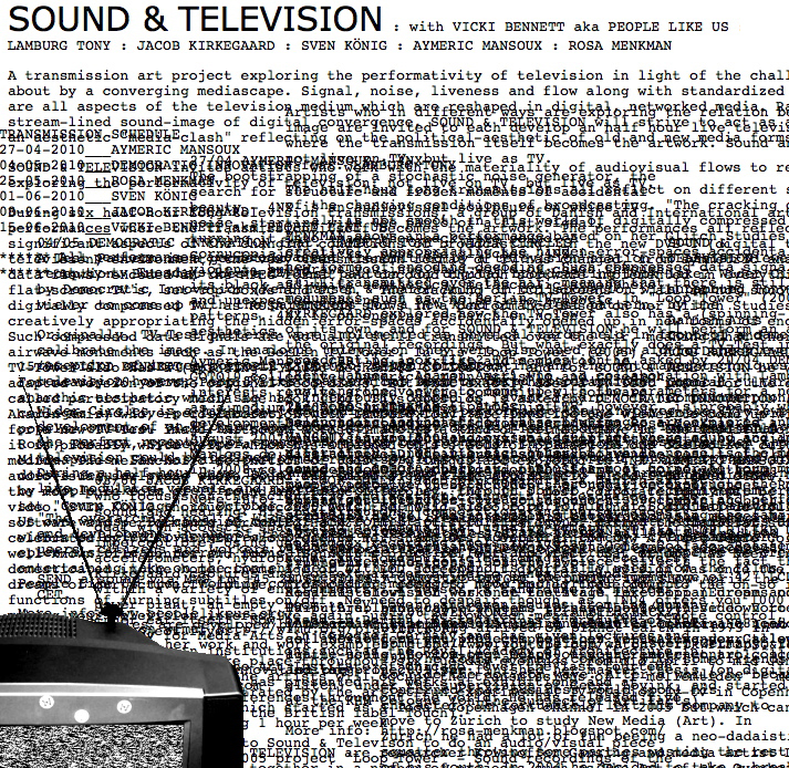 Sound and television