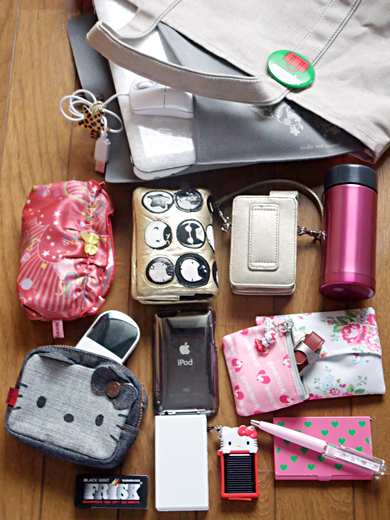 what's in my bag - gadget day
