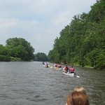 "Canoeing Upper Iowa River<a href=""http://farm5.static.flickr.com/4007/4543649671_ca8795053c_o.jpg"" title=""High res"">∝</a>"
