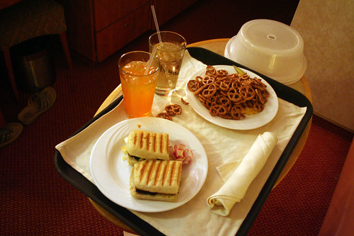 Carnival Spirit - Grilled Cheese from Room Service (Eventually)