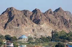 Gazebo (Gerry Hill) Tags: cruise mountain mountains persian gulf gazebo childrens oman muscat seas brilliance playpark