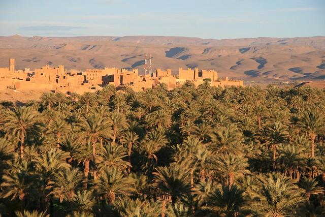 Chez l'habitant Maroc, Maison Famille Marocaine, village de Nkob avec de magnifiques Casbahs Traditionnels marocains