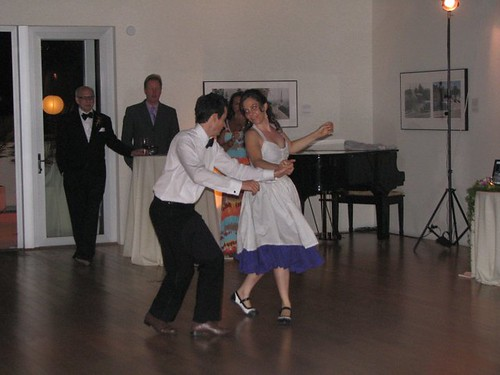 E and C dancing 1