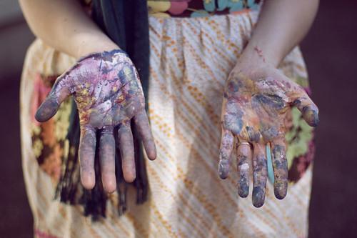 nicole's hands