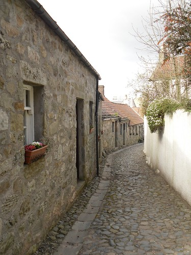 An ancient street in Falkland