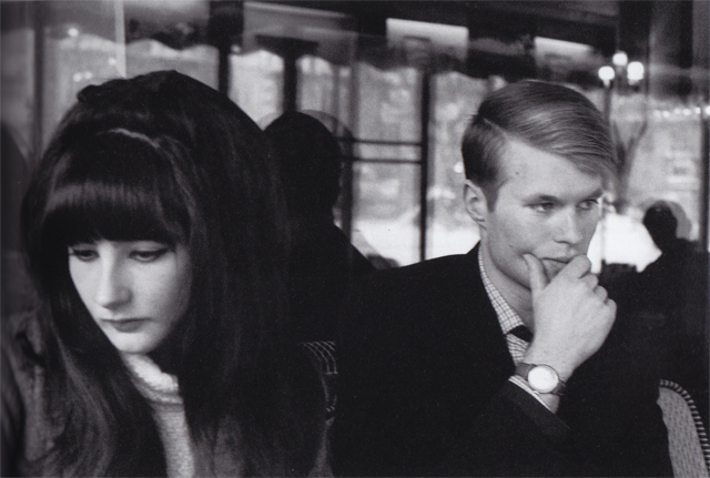 12 Jean-Marie Le Clezio with his wife, Paris. 1965