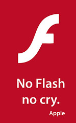 update: apple didn't kill flash, html5 did.