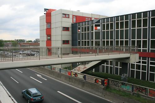 Ruhrschnellweg in Essen