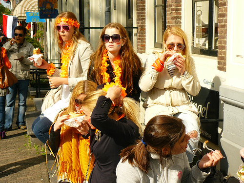 Queensday in Amsterdam  :)