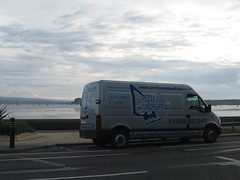 Poole Harbour & the Poole Windsurfing van