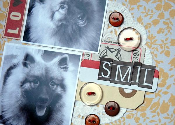 Smil - detail