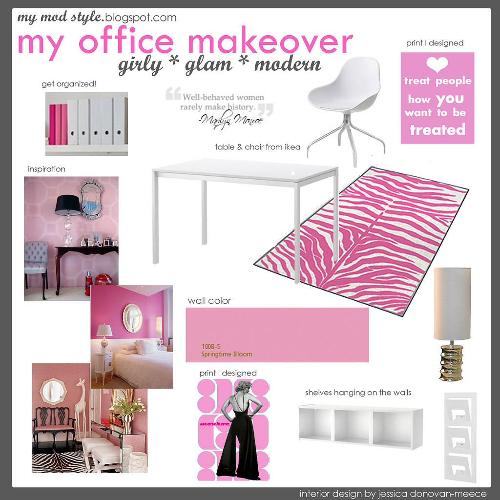 My Office Makeover Board