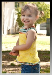 SUMMER SWING TANK!  *Knitting pattern*